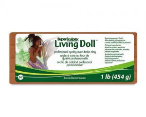 Sculpey Living Doll Marrón 454gr