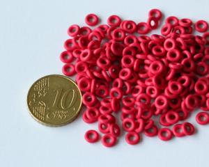 O-Rings 2mm Cereza (Pack 50u.)