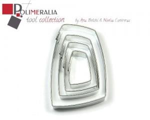 Set Cortadores Polimeralia C11 - Gehry