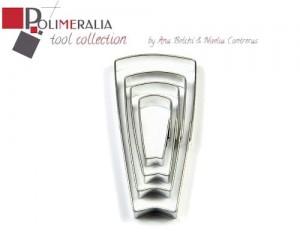 Set Cortadores Polimeralia C09 - Teja