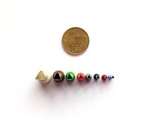 Set 8 Micro Cortadores Triángulo