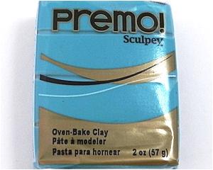 Pastilla Premo 56gr Turquesa (5505)