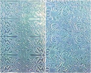 Hojas de Textura: Barroco y Art Nouveau