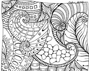 Textura Ammonites