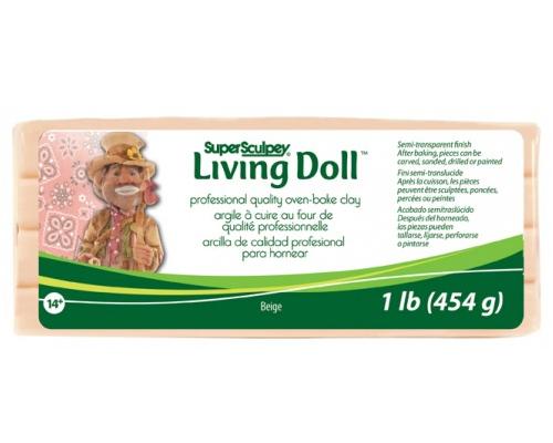 Sculpey Living Doll Beige 454gr