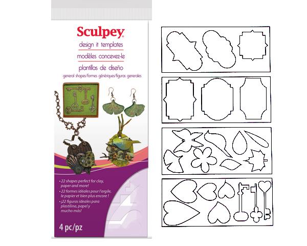 Set de plantillas de corte Sculpey - General