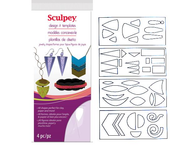 Set de plantillas de corte Sculpey - Jewerly