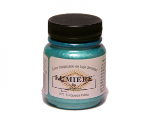 Lumiere nº571 Pearlescent Turquoise