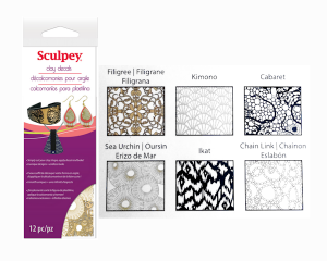 Decals Sculpey