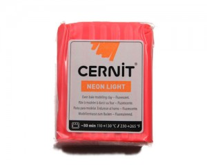 Cernit Neon Light Rojo 56gr (400)