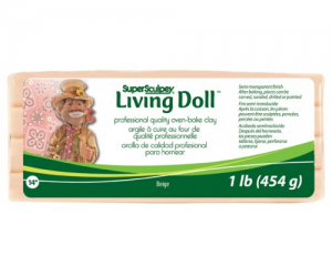 Sculpey Living Doll Beige 454gr