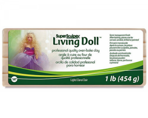 Sculpey Living Doll Claro 454gr