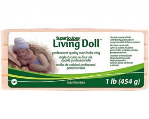 Sculpey Living Doll Baby 454gr