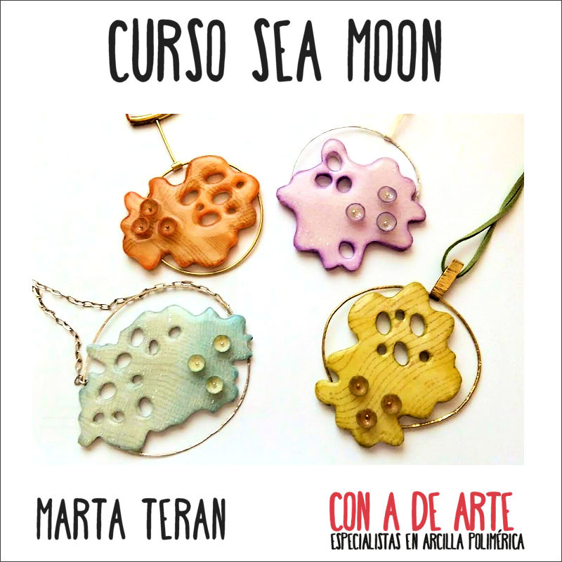 Sea Moon, por Marta Terán